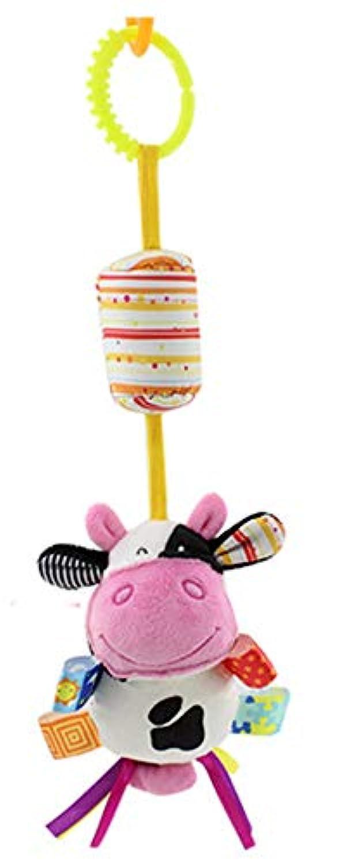 HorBous ベビー幼児用クレードルベビーベッド ベビーカー用吊り下げおもちゃ ウィンドチャイム付き (1個または3本) HWJCP0029-31