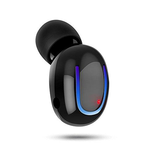 『超軽量 bluetooth イヤホン 片耳』高音質通話 ワイヤレス イヤホン マイク内蔵 iPhone&Android対応(メーカー保証一年)