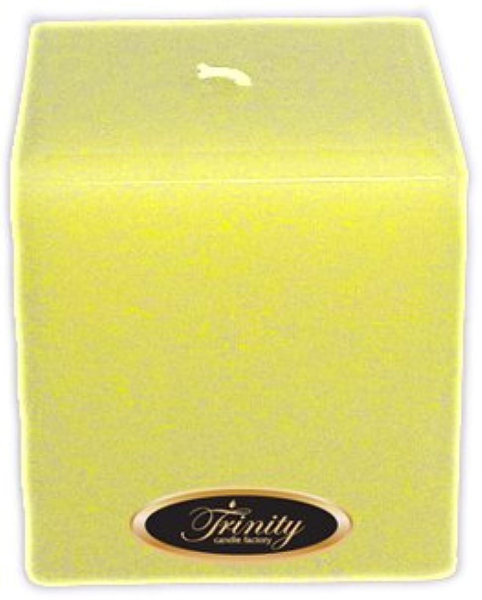 栄養天国正午Trinity Candle工場 – Gardenia – Pillar Candle – 正方形 – 4 x 4