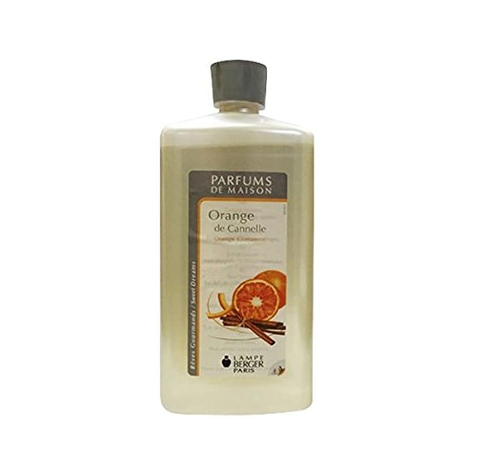 同様に収まる対ランプベルジェオイル(オレンジシナモン)Orange de Cannelle / Orange Cinnamon