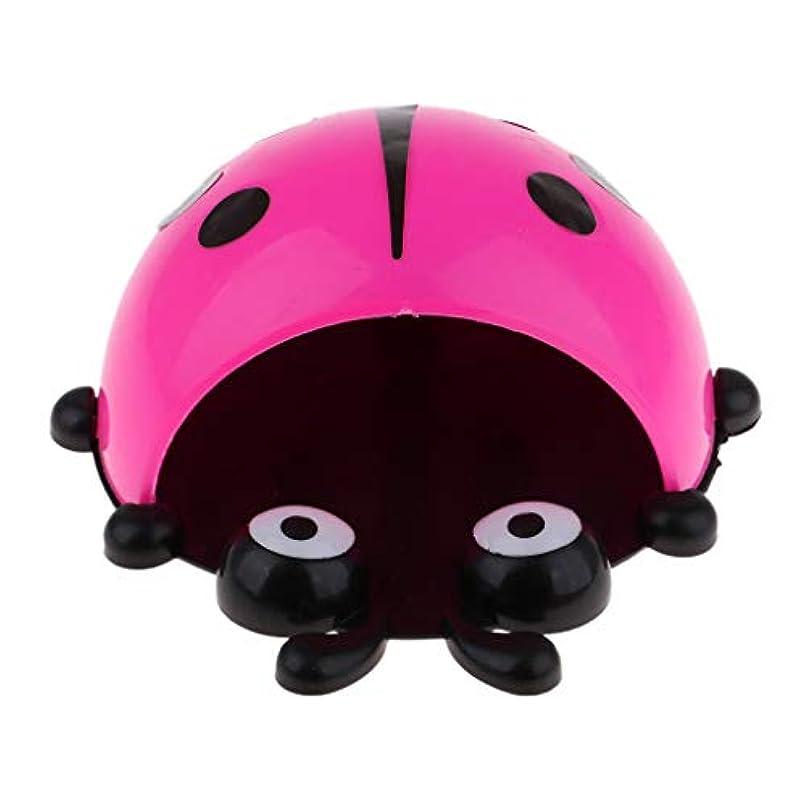 レイアウト人類広告主Baoblaze てんとう虫柄 フレーム 自転車アクセサリー ブラケット 子供 バスケット バイクバッグ