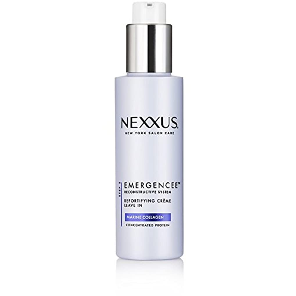 日付付き発動機盆Nexxus Emergenceeはダメージを受けた髪のためにクリーム状にしておきます、150 ml
