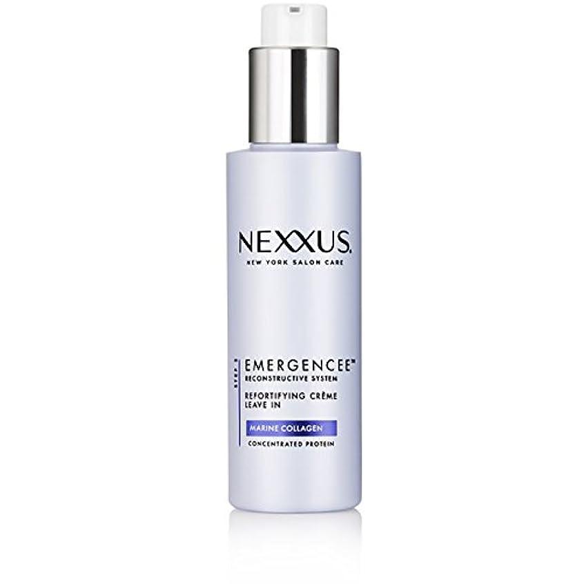 小麦粉恐れテクスチャーNexxus Emergenceeはダメージを受けた髪のためにクリーム状にしておきます、150 ml