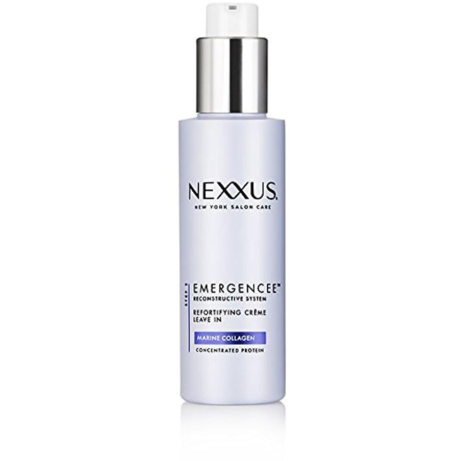繊細大統領予防接種するNexxus Emergenceeはダメージを受けた髪のためにクリーム状にしておきます、150 ml