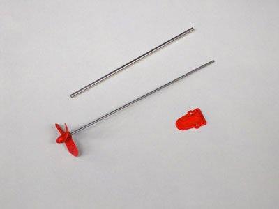 肛虐用・船用パイプスクリュー 大 赤 径35mm 4108