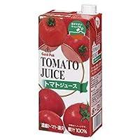ゴールドパック トマトジュース 1L紙パック×12(6×2)本入