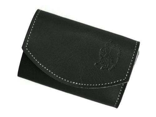 【極小財布・小さい財布】小さいふ ポキート クアトロガッツ Black berry ブラックベリー