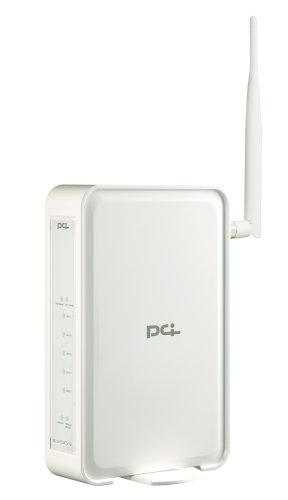 PLANEX 高性能 ハイパワー54Mbps無線LANルータ&カードセット BLW-54CW2-PK