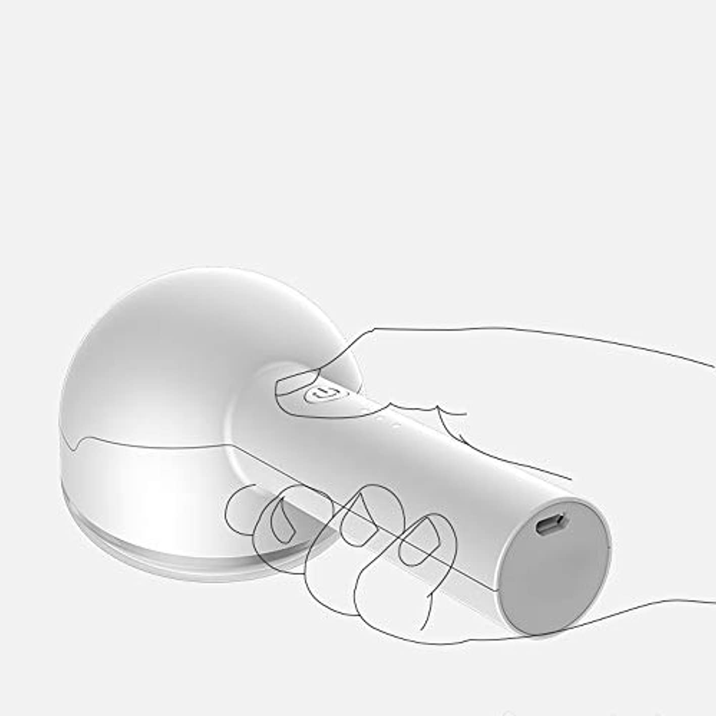 手書き背景食堂飛強強 ファブリックシェーバー - リントリムーバー衣類シェーバーフリース服の充電式ボブファブリックシェーバー 家具の脱毛 (Color : White)