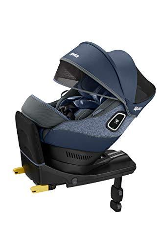アップリカ ISOFIX固定 Aprica R129適合新生児から使えるチャイルドシート クルリラプラス 360° セーフティー Cururila Plus 360° Safety ブルーストーン BL 2060644 0か月~ (1年保証)