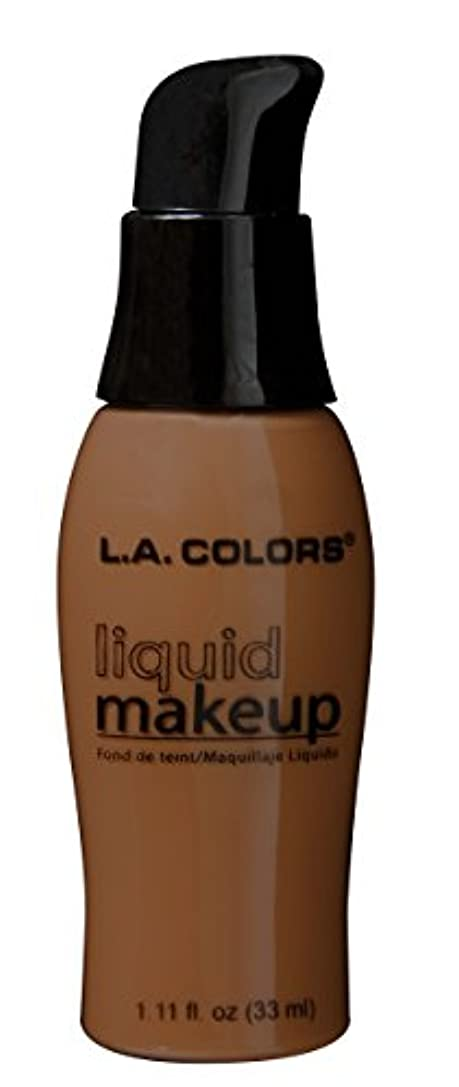 前投薬玉バラバラにするLA COLORS Liquid Makeup Beautiful Bronze (並行輸入品)