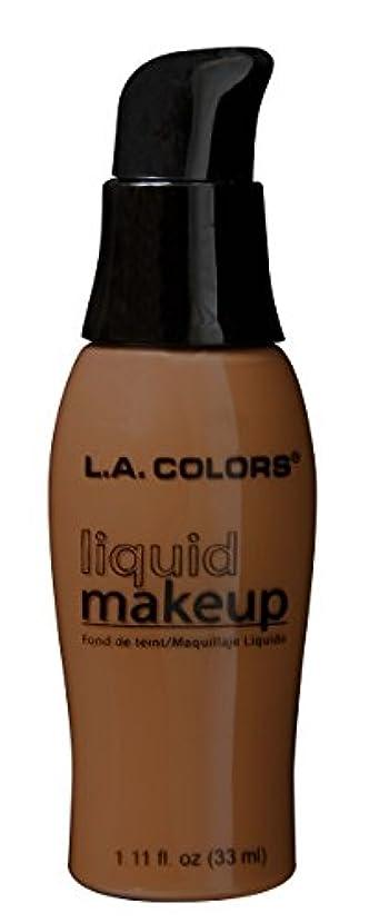 溶接曇った積極的にLA COLORS Liquid Makeup Beautiful Bronze (並行輸入品)
