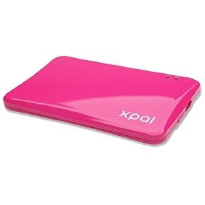 スリムモバイルバッテリー ピンク XP-1000PI