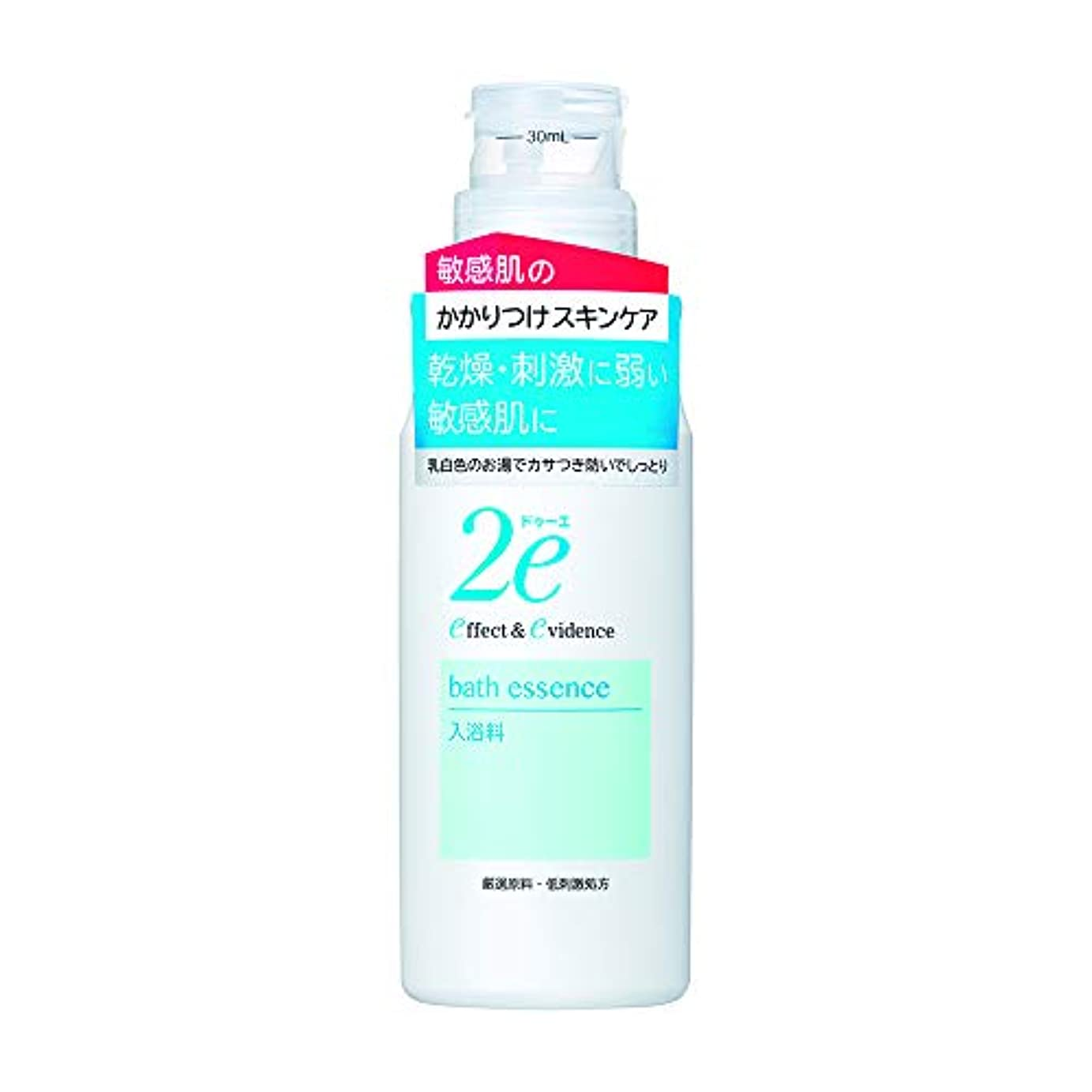 求める主に学校の先生2e(ドゥーエ) 入浴料 敏感肌用 低刺激処方 乳白色 420ml 入浴剤