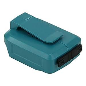 Vanko マキタ互換usbアダプタ ADP05 usbアダプタ14.4v 18vバッテリー USBアダプタ ADP05 マキタ互換 (本体のみ)バッテリー別売 一年保証