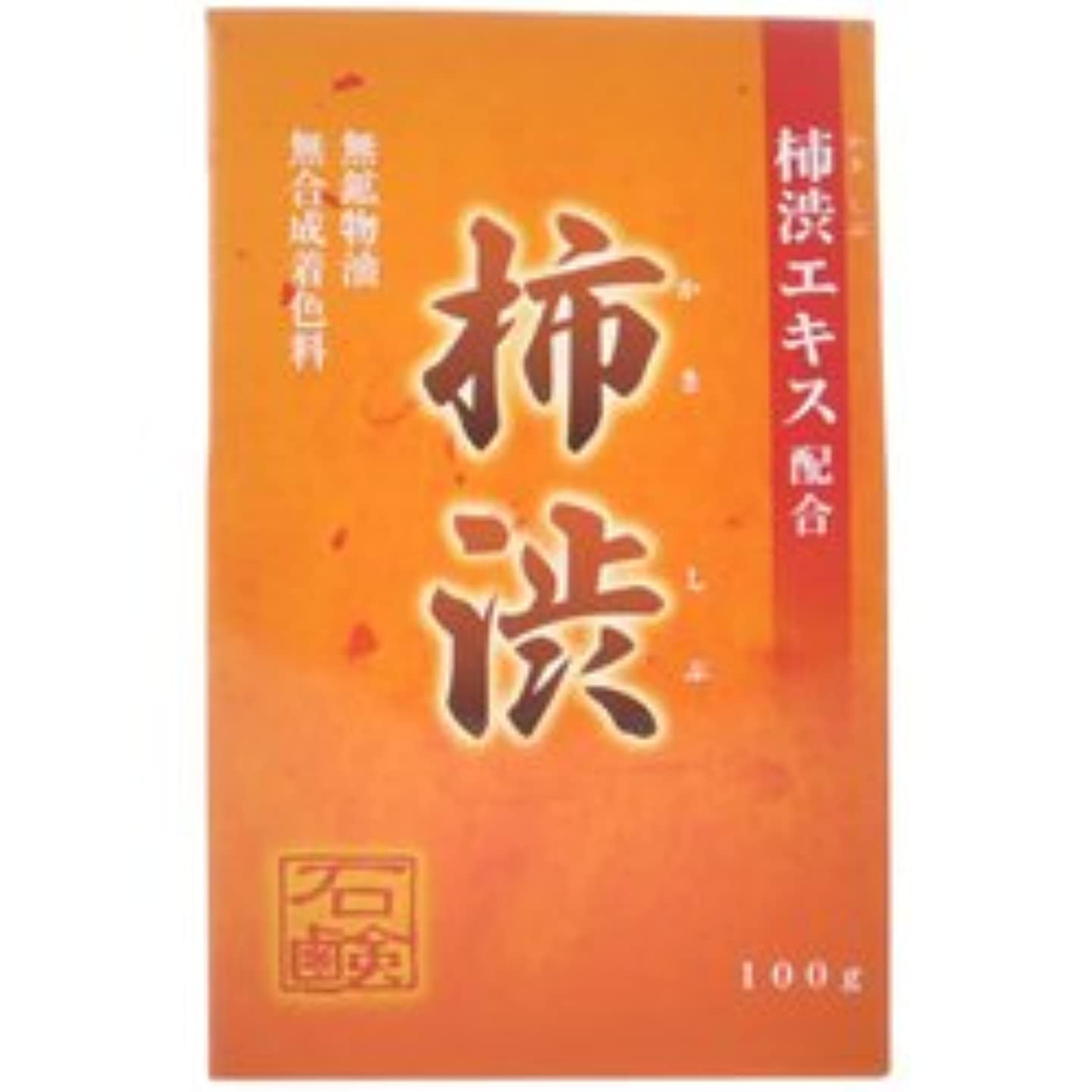 反響する悪性小説家【アール・エイチ・ビープロダクト】新 柿渋石鹸 100g ×5個セット