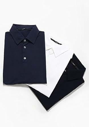 ZANONE (ザノーネ) [春夏]  アイスコットン ポロシャツ ブラックz0015 size48