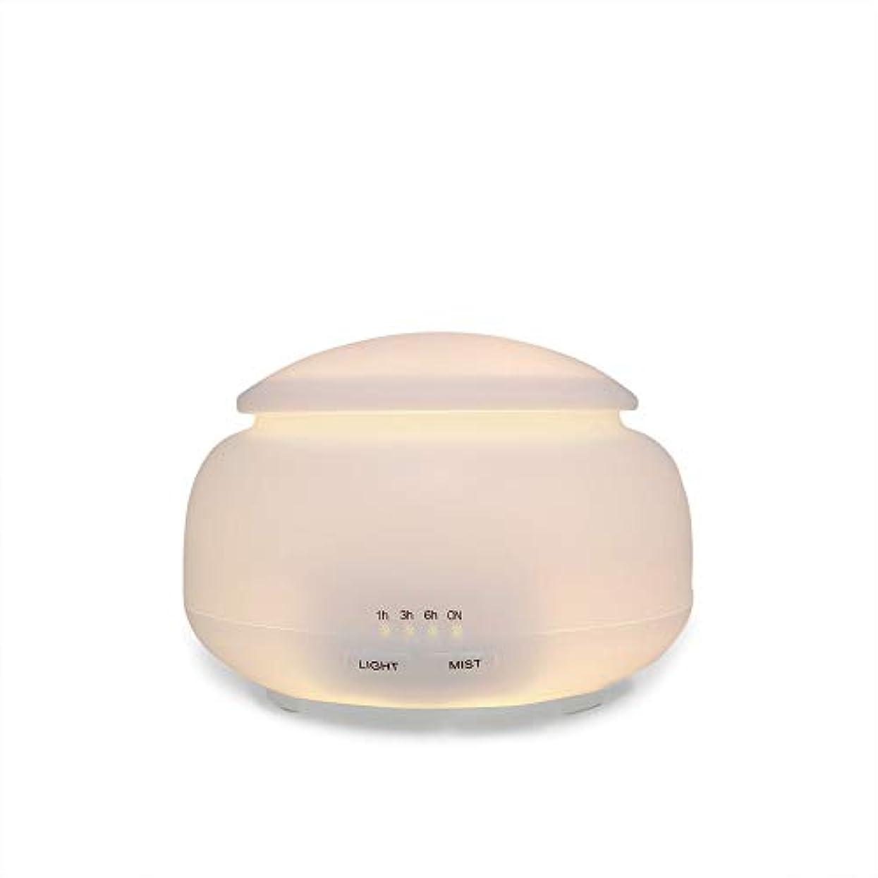 受け皿柔和フォーク150ml の家の超音波アロマセラピー機械、大きい無声空気浄化の加湿器容量のスプレーのタイマーおよび水なしの自動オフ、7つの LED ライト色