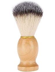 毛髭ブラシと木製コ バガーヘア げブラシメンズシェービングブラシ シェービングブラシ