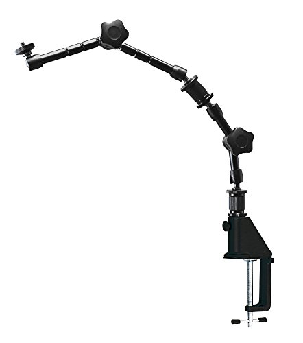 ホーザン(HOZAN) フレキシブルアーム 光学機器用部品 カメラの固定に 小型軽量で持ち運び簡単 クランプ固定で机を傷つけない  L-803