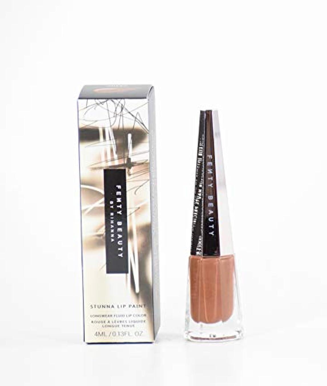 たくさんピアニスト内なるFENTY BEAUTY BY RIHANNA Stunna Lip Paint Longwear Fluid Lip Color リップ リアーナ フェンティビューティ (Unveil - chocolate brown)