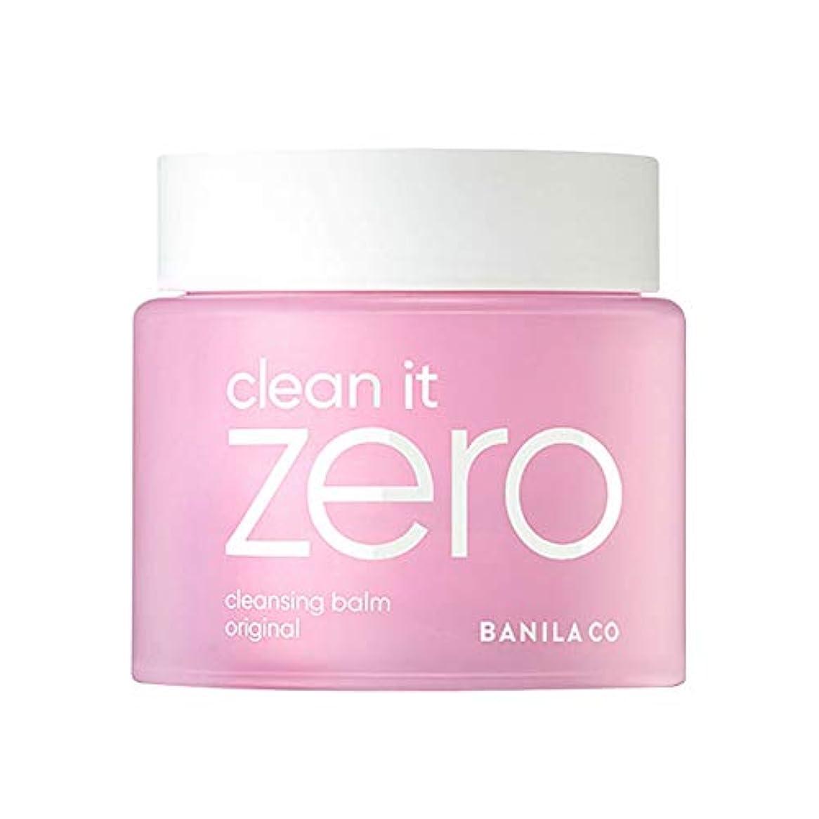 反動容疑者持続的バニラコクリーンイットゼロクレンジングbalmオリジナル180mlクレンジングクリーム、Banila Co Clean It Zero Cleansing Balm Original 180ml [並行輸入品]