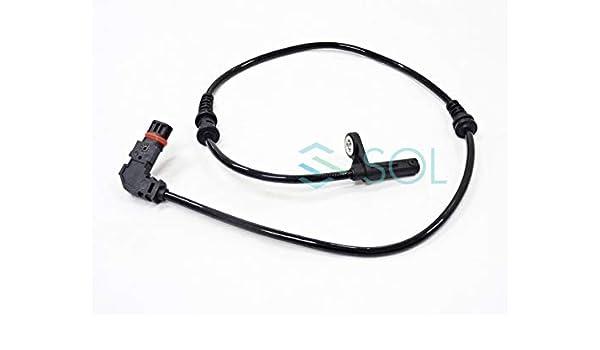 HZTWFC Front ABS Wheel Speed Sensor OEM # 2049057900 204 905 79 00 A2049057900 A204 905 79 00