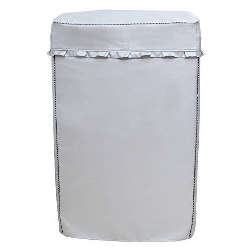 [Mr. You ]洗濯機カバー 厚い シルバー 防水 防日...