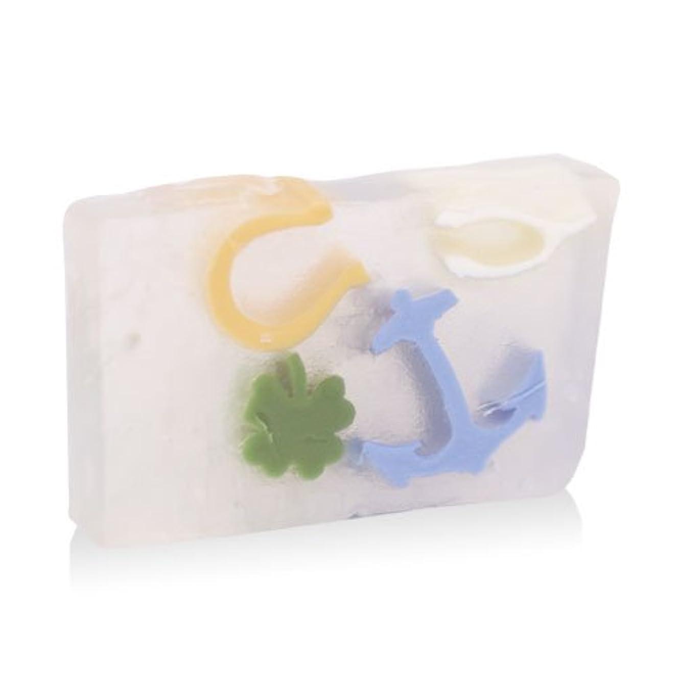 冷凍庫持っている噴出するプライモールエレメンツ アロマティック ソープ グッドラックチャーム 180g 植物性 ナチュラル 石鹸 無添加