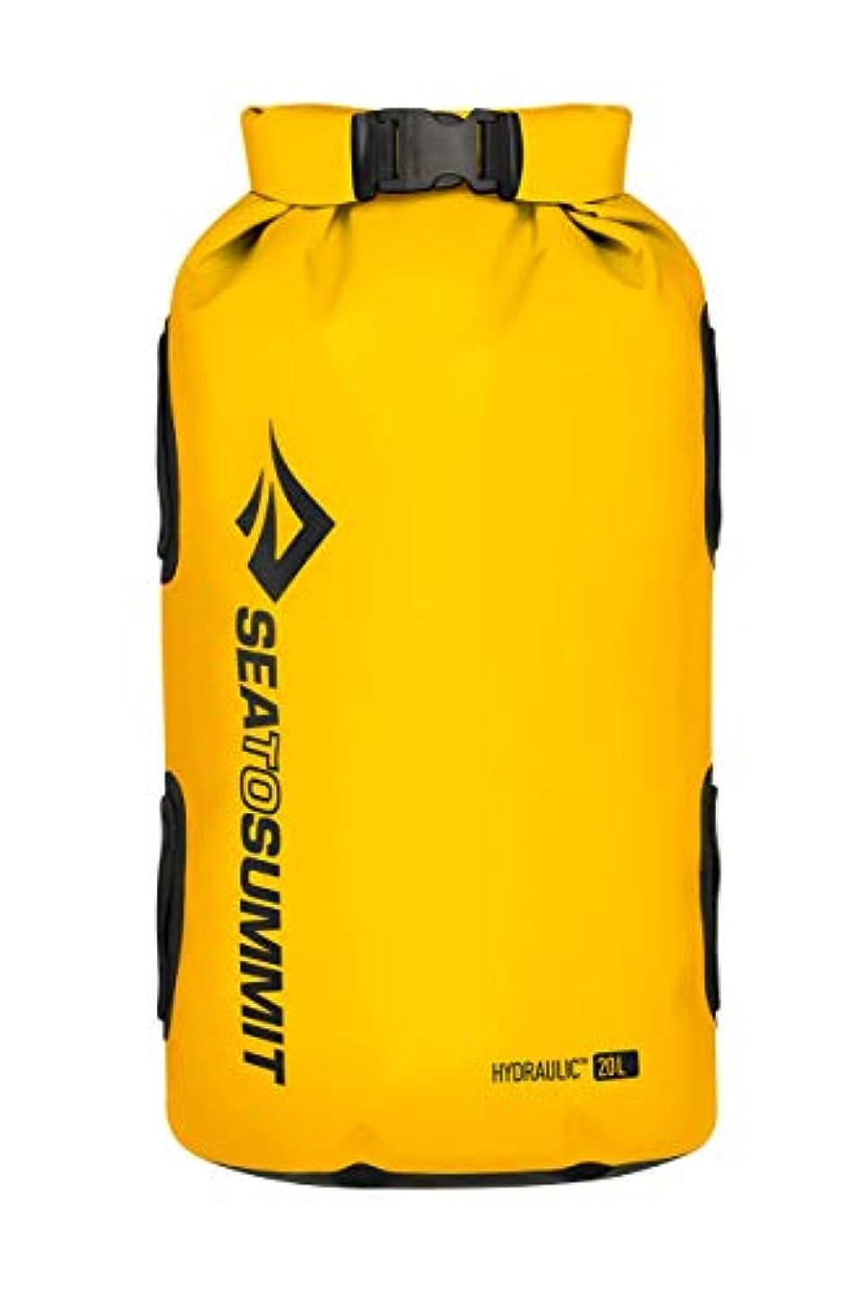 敬礼寺院クリップ蝶Sea to Summit Hydraulic Dry Bag - Yellow 20L [並行輸入品]