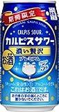 CALPIS カルピスサワー 濃い贅沢 350mlx12本