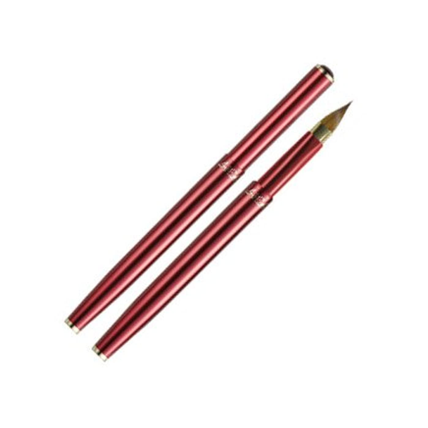 ソーダ水扱いやすいワイン熊野化粧筆/竹田ブラシ/携帯用リップブラシ58C-WR