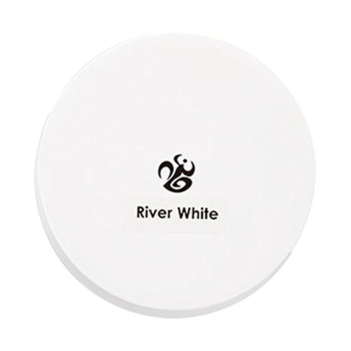 シェルターなんとなく弱まるネイルデダンス アクリルパウダー リバーホワイト 20g
