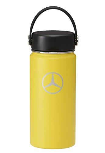 【Mercedes-Benz Collection】 メルセデス・ベンツ × Hydro Flask (ハイドロフラスク) ステンレスボトル 16 oz ワイドマウス レモン