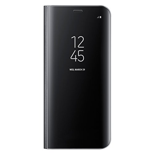 Galaxy S8+ (6.2インチ)用 CLEAR VIEW STANDING COVER【Galaxy純正 国内正規品】ブラック EF-ZG955CBEGJP