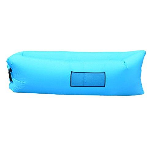 GOMYHOM エアーソファー エアベッド 空気を入れるだけ どこでも寝られる超便利なレイバッグ キャンプ アウトドア 登山 海水浴 プールなど どこでも活躍