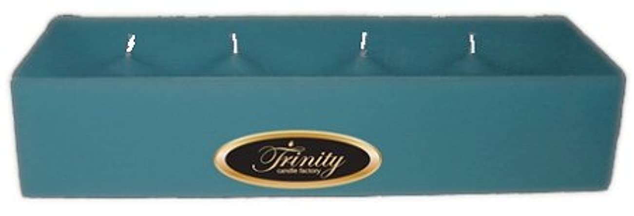 冒険幸運投獄Trinity Candle工場 – マウイBreeze – Pillar Candle – 12 x 4 x 2 – ログ