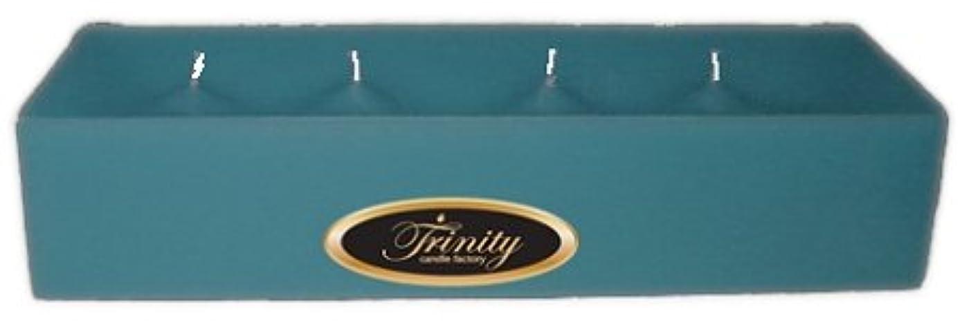水分グッゲンハイム美術館旋回Trinity Candle工場 – マウイBreeze – Pillar Candle – 12 x 4 x 2 – ログ