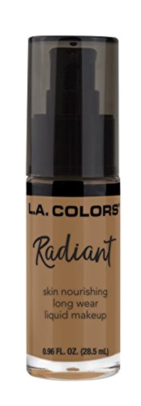 良い申し込む郵便局L.A. COLORS Radiant Liquid Makeup - Chestnut (並行輸入品)