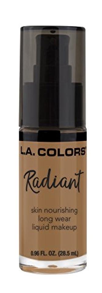 勤勉な慎重把握L.A. COLORS Radiant Liquid Makeup - Chestnut (並行輸入品)