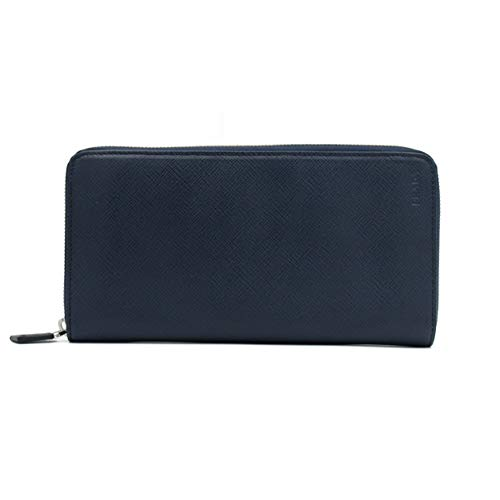 0d5f64111606 PRADA(プラダ) SAFFIANO 長財布 2ML220 サフィアーノ財布 (DARK BLUE) [並行
