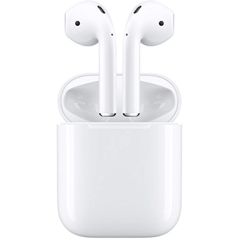 Apple AirPods 完全ワイヤレスイヤホン Bluetooth対応 マイク付き MMEF2J/A (一世代前のモデル)
