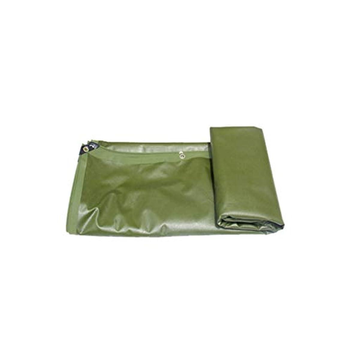 シャイ未使用バッジTarpaulin ターポリンの厚い緑のハロウィーンの防水腐食防止と耐引裂キャンプ装飾の家族の服のため Garden tent (Size : 4Mx5M)