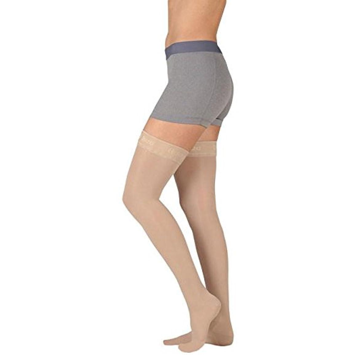 概要リングバックごちそうJuzo Basic Thigh High w/Silicone Dot Band 20-30mmHg Closed Toe, IV, beige by Juzo
