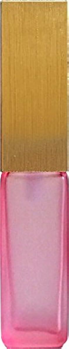 気質衰えるエレベーター16495グラス?四角?ピンク?ゴールドキャップ