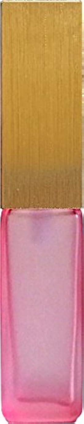 無許可レルムゲージ16495グラス?四角?ピンク?ゴールドキャップ