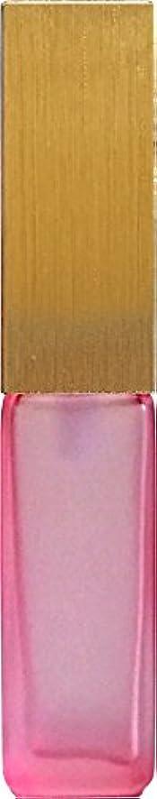 ワゴンフォークキャビン16495グラス?四角?ピンク?ゴールドキャップ