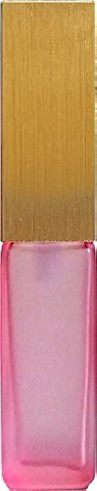 移行肺炎16495グラス?四角?ピンク?ゴールドキャップ
