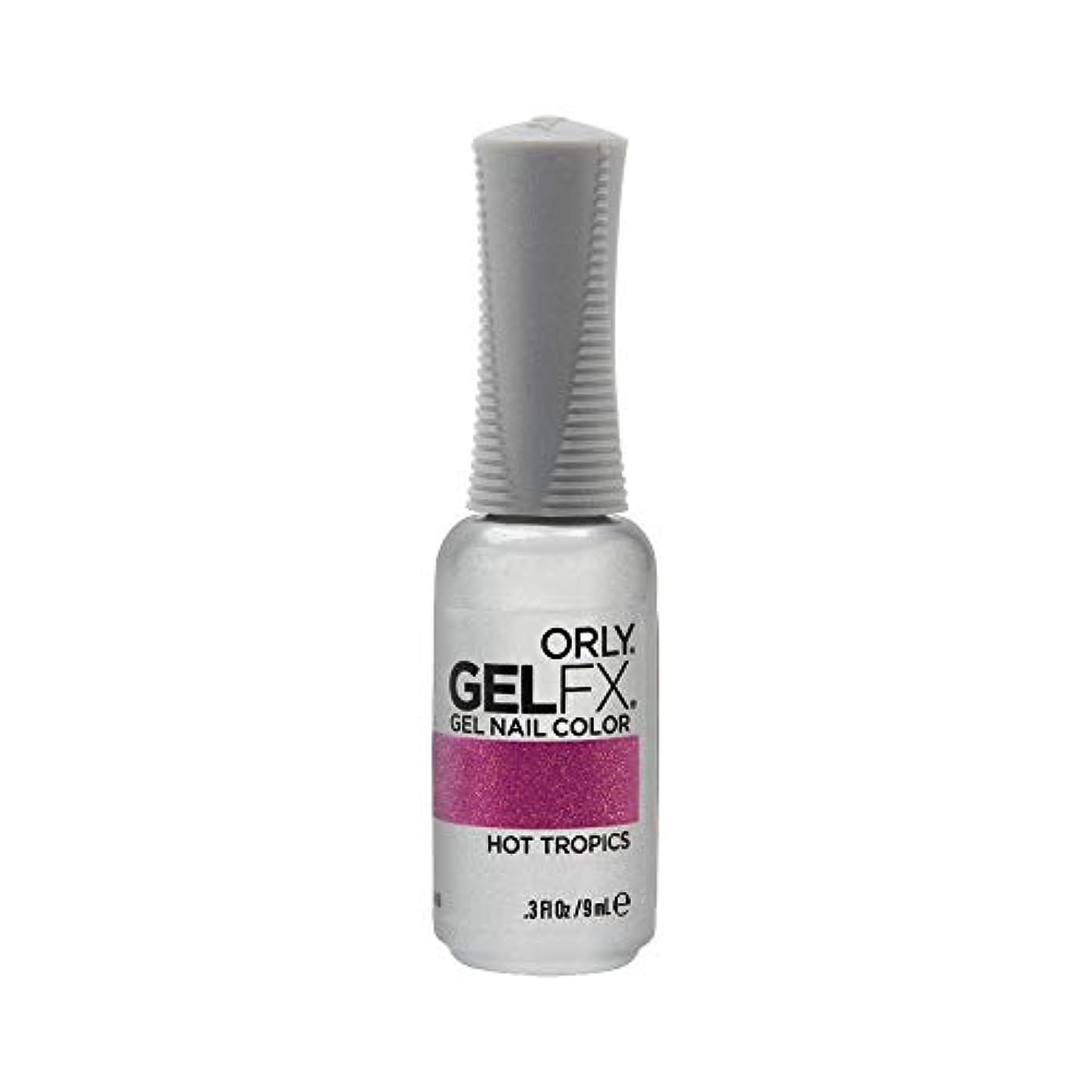 の頭の上代数悩みOrly GelFX Gel Polish - Hot Tropics - 0.3oz / 9ml