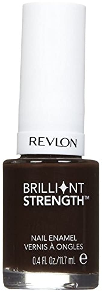 磨かれた旅行代理店統治可能REVLON BRILLIANT STRENGTH NAIL ENAMEL #160 DOMINATE